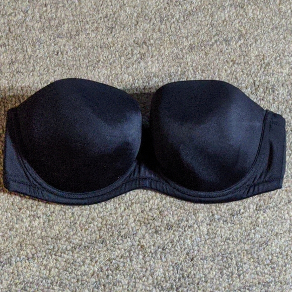 Cacique Other - Cacique brand black strapless bra 40D